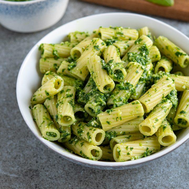 Arugula, Basil and Spinach Pesto