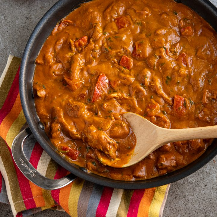 Coconut Chicken and Red Pepper Curry
