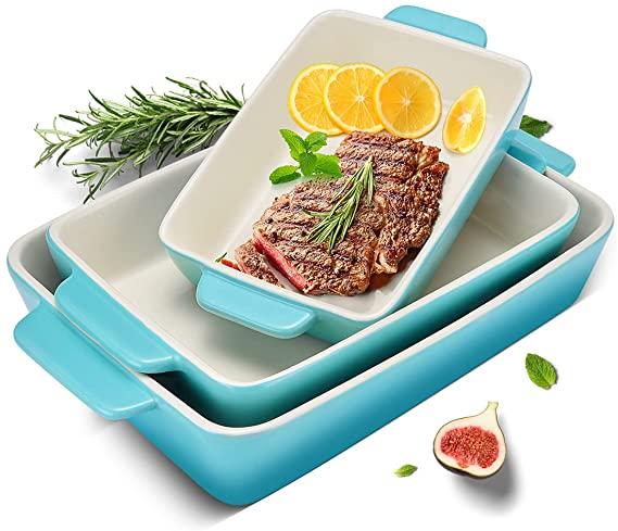 3 Piece Casserole Dish Ceramic Baking Dish