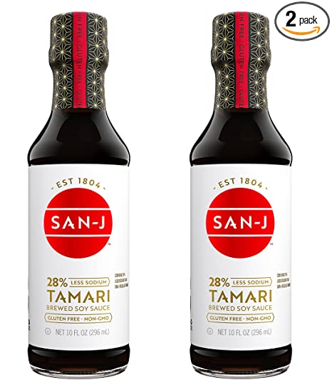 Low Sodium Gluten Free Soy Sauce (Tamari)