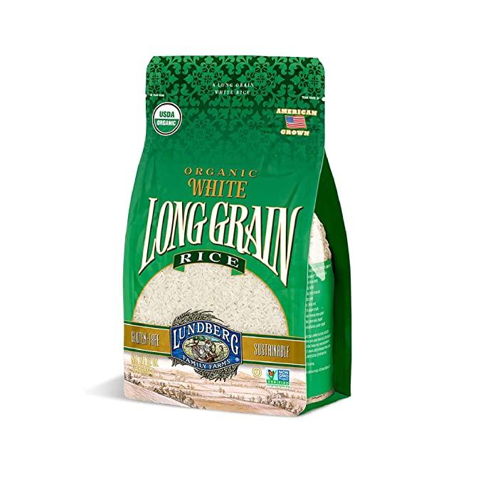 Lundberg Family Farms - Organic White Long Grain Rice