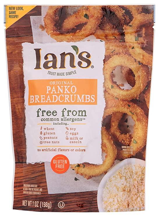 Ians Gluten Free Panko Breadcrumbs